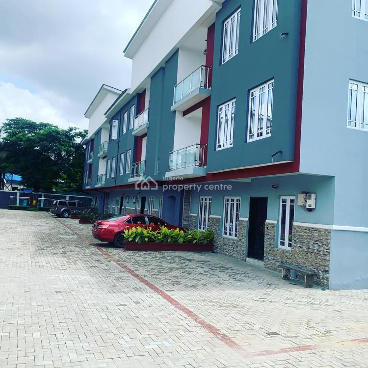Exquisite 4 Bedroom Terrace Duplex & 4 Bedroom Flat, Commonwealth Road, Palmgrove Estate, Palmgrove, Ilupeju, Lagos, Terraced Duplex for Sale