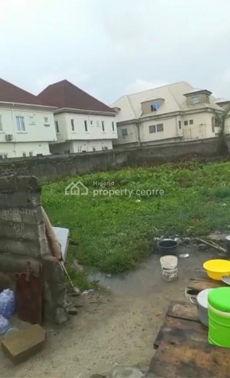 Fenced 2 Plots of Sand Filled Land on a Paved Road with Consent, Road, Ologolo, Lekki, Lagos, Residential Land for Sale