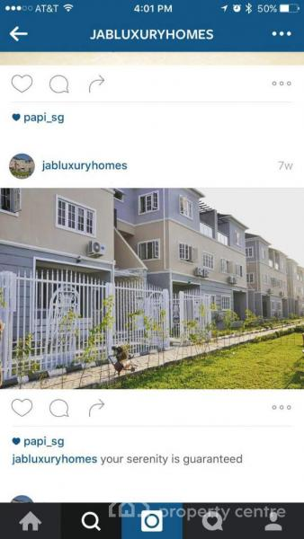 Luxury & Serviced 4bedrooms Terraced Duplex(24hrs Steady Supply), By Nextmall Junction, Jahi, Abuja, Terraced Duplex for Rent