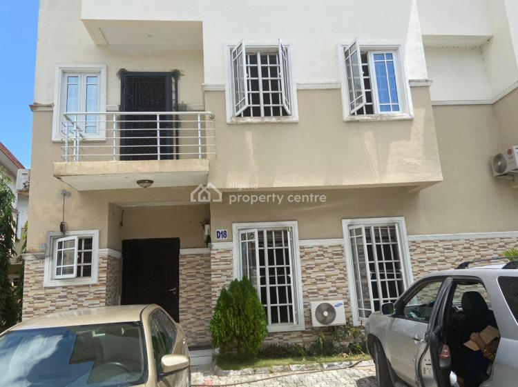 Luxury Built 3 Bedrooms Terraced Duplex with B/q, Cooplag Gardens, Orchid Road, By 2nd Tollgate, Lekki, Lagos, Terraced Duplex for Rent