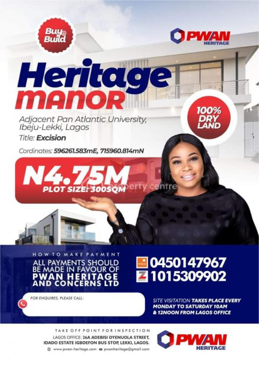 Land, Heritage Manor Estate, Alaro City, Ibeju Lekki, Lagos, Mixed-use Land for Sale