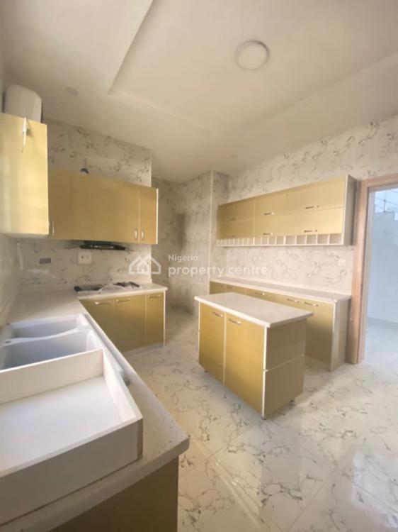 Luxury 4 Bedroom House with a Room Bq, Ikota, Lekki, Lagos, Semi-detached Duplex for Sale