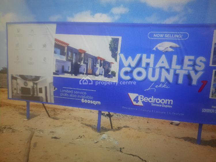 Luxury Property Available with C of O, Whale County Estate, Orchid Road, Lekki Phase 1, Lekki, Lagos, Mixed-use Land for Sale