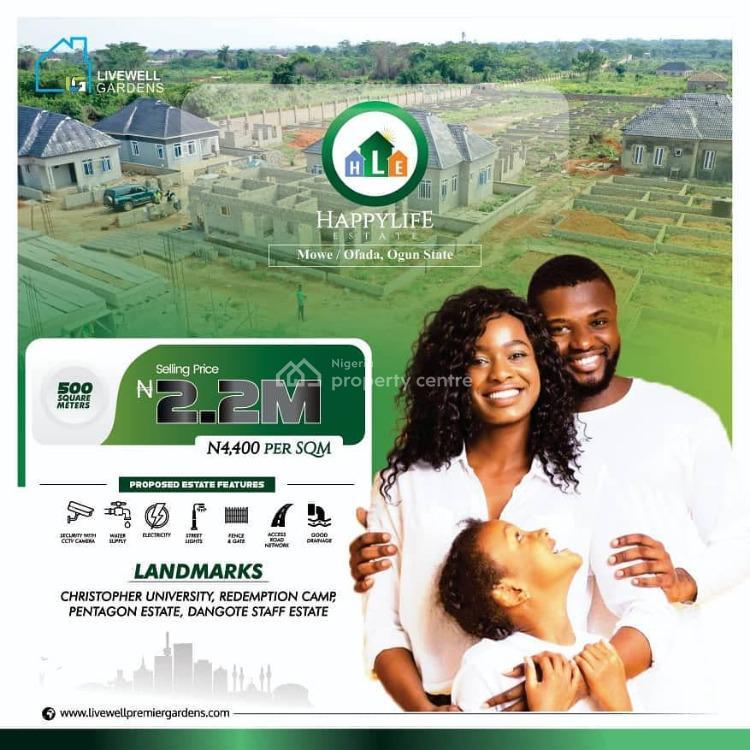 Affordable Luxury, Along Lagos Ibadan Expressway, Mowe Ofada, Ogun, Residential Land for Sale