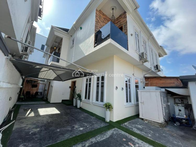 Lovely and Spacious 4 Bedroom Semi Detached Duplex with Bq, By East West Estate, Agungi, Lekki, Lagos, Semi-detached Duplex for Sale