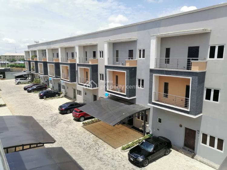 Tastefully Finished 4 Bedroom Terraced Duplex, Jahi, Abuja, Terraced Duplex for Sale