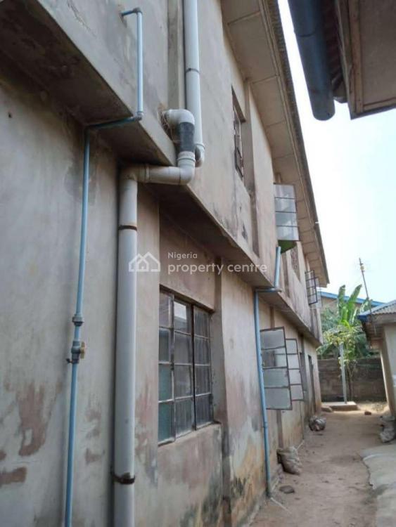 a Twin 4 Bedroom Flat & 10 Rooms Story Building with 4 Rooms Bq, Agbebi Close, Ifedapo Estate, Opeilu, Dalemo, Alagbado, Ifako-ijaiye, Lagos, Block of Flats for Sale