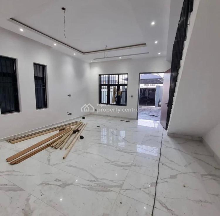 4 Bedroom Semi  Detached Duplex  Elegant Home with a Room Bq, Lekki Phase 1, Lekki, Lagos, Semi-detached Duplex for Sale