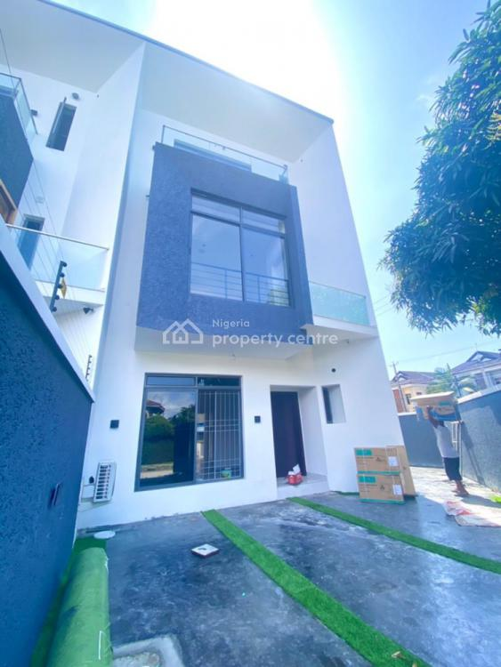 Luxurious Fully Automated 4 Bedroom Semi-detached House with a Room Bq, Lekki Phase 1, Lekki, Lagos, Semi-detached Duplex for Sale