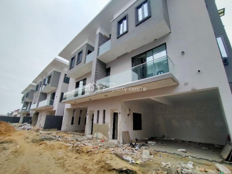 3 Bedroom with Bq and Swimming Pool, 24 Hours Serviced, Ikate Elegushi, Lekki, Lagos, Terraced Duplex for Rent
