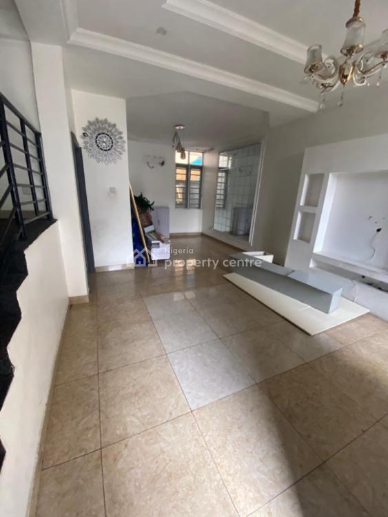 Well Finished Self Serviced 4 Bedroom Terrace Duplex with a Room Bq, Lekki Phase 1, Lekki, Lagos, Terraced Duplex for Rent