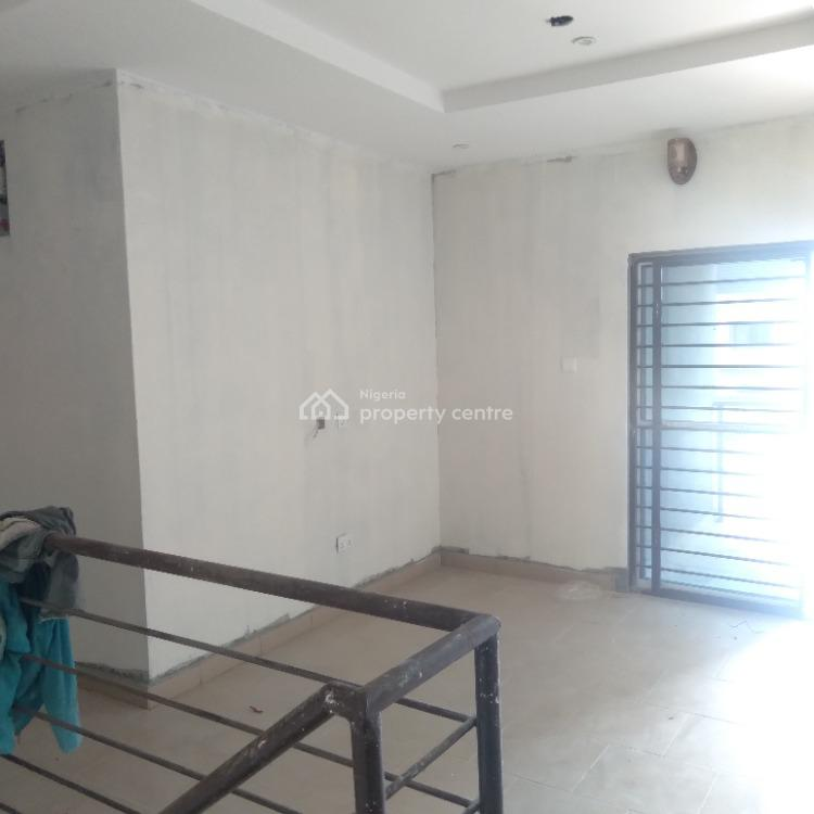 Brand New 4-bedroom Terrace House with Bq, Scheme 2/ Abraham Adesanya, Ajah, Lagos, Terraced Duplex for Rent