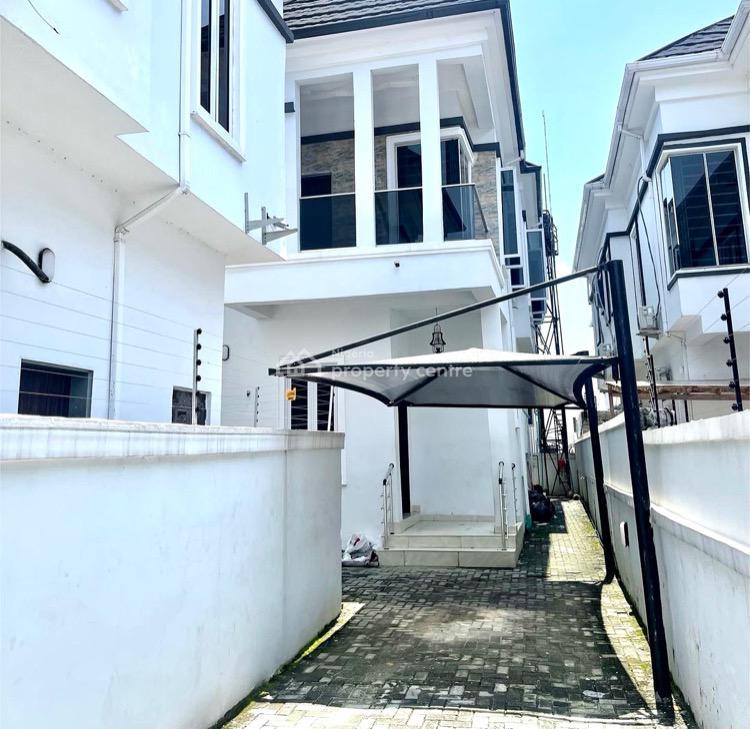 4 Bedroom Semi Detached Duplex with a Bq, Chevron 2nd Toll Gate, Lekki, Lagos, Semi-detached Duplex for Rent