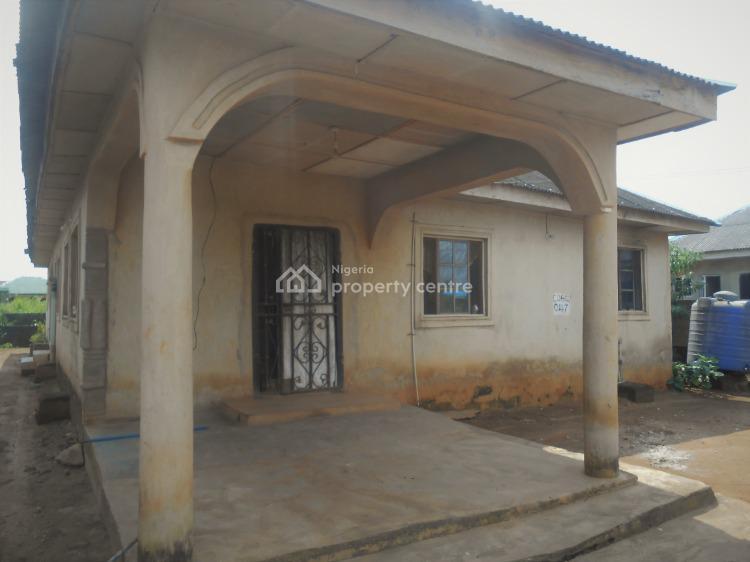 3 Bedroom Flat+2 Bedroom Flat Bungalow on a Full Plot, Onefold Gberigbe, After Mobil Filling Station, Mowo Nla., Gberigbe, Ikorodu, Lagos, Detached Bungalow for Sale