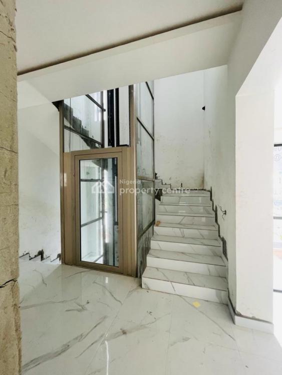 5 Bedroom Fully-detached Duplex with a Room Bq, Pool, Cinema, Lift, Victorypark Estate, Lekki, Lagos, Detached Duplex for Sale