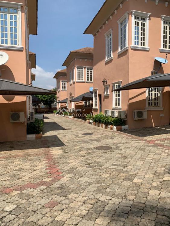 Well Built 6 Units of 4 Bedrooms Duplex with a Room Boys Quarters, Diplomatic Zone, Katampe Extension, Katampe, Abuja, Terraced Duplex for Sale