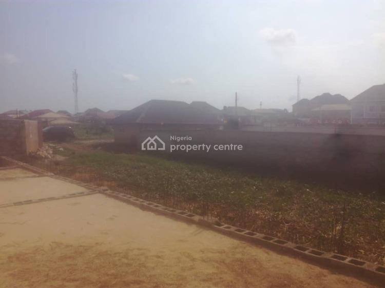 Half Plot of Land with Foundation, Engr Okoye Str Bucknor, Isolo, Lagos, Residential Land for Sale