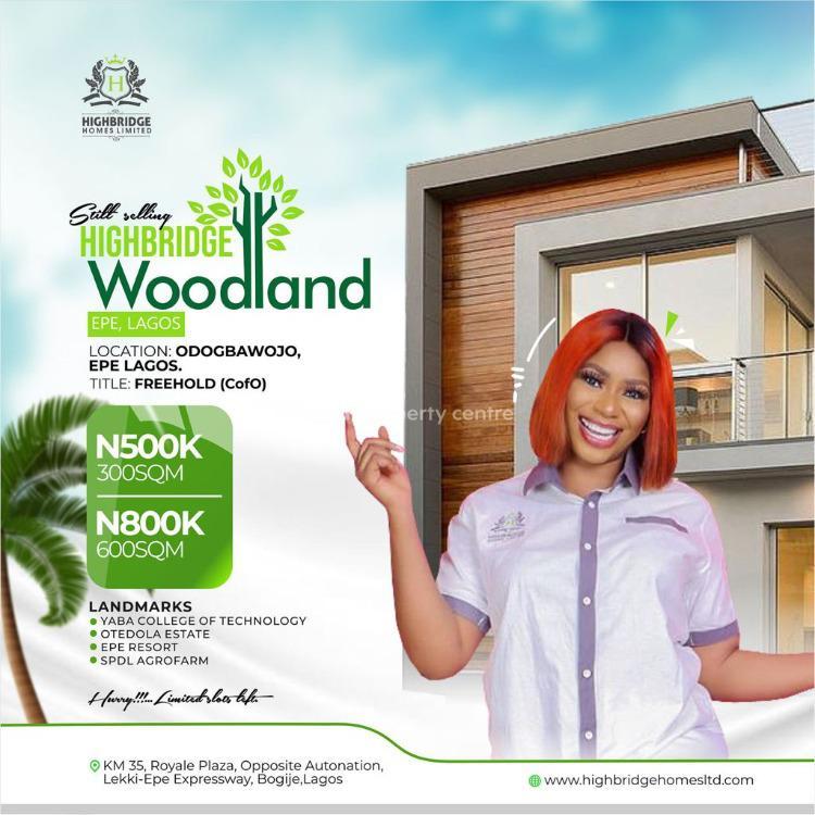 Highbridge Woodland Estate, St Augustine University, Epe, Lagos, Residential Land for Sale