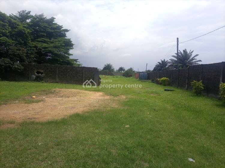 Well Located and Table Dry Land, Iwofe Akar Road Rumuolumini, Adjacent Naval Base, Port Harcourt, Rivers, Mixed-use Land for Sale