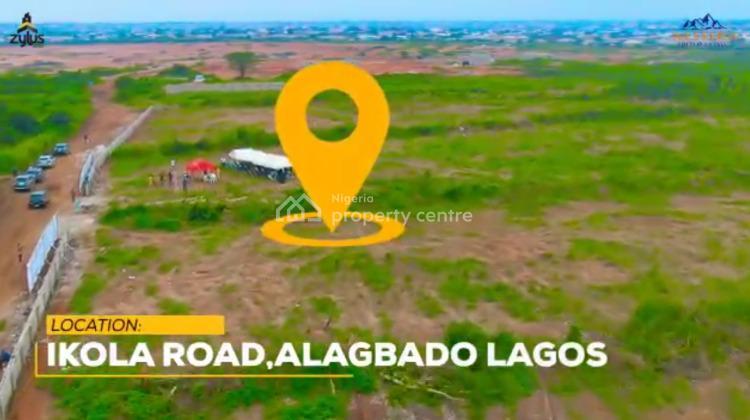 a Timeless Piece of Treasure Set on a Hilltop, Ikola Road, Alagbado, Ifako-ijaiye, Lagos, Residential Land for Sale