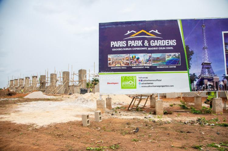Land, Oshogbo, Paris Park and Gardens, Ejigbo, Osun, Land for Sale