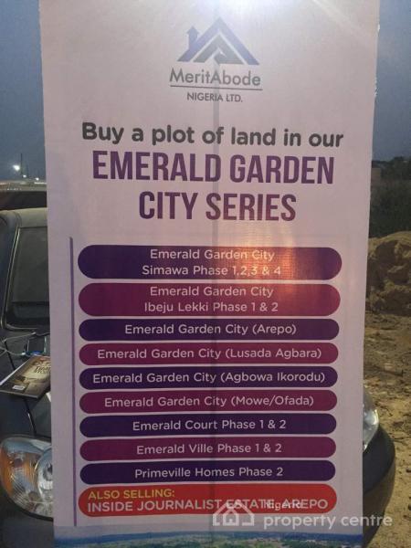 Emerald Garden City Simawa, Simawa, Ogun, Mixed-use Land for Sale