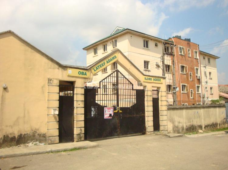 3 Bedroom Flat, Oba Lateef Adams Estate, Ishola Yusuf Street Off Humani Street Iloro, Agege, Lagos, Flat / Apartment for Sale