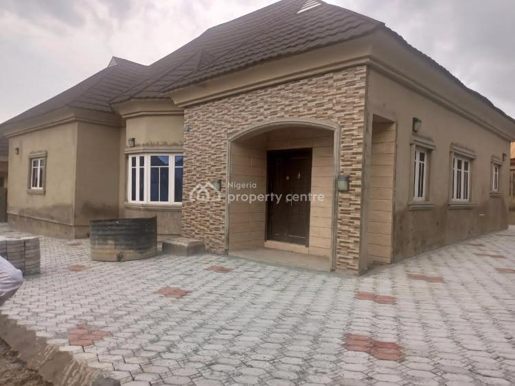 4bedroom Fully Detached Bungalow with Bq Carcass, Palm Height Estate Lugbe, Lugbe District, Abuja, House for Sale