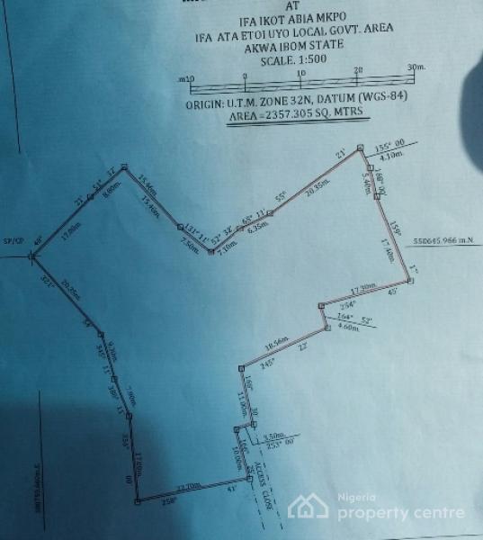 Large Plot of Land, Off Oron Road, Uyo, Akwa Ibom, Mixed-use Land for Sale