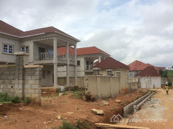 85% Finished 4 Bedroom Duplex with Space for Bq, Megabond Estate, Gwarinpa Estate, Gwarinpa, Abuja, Detached Duplex for Sale