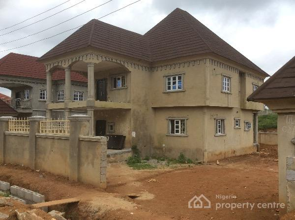 85 finished 4 bedroom duplex with space for bq gwarinpa for Duplex project homes