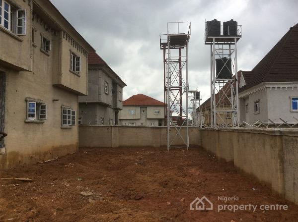 85% Finished 4 Bedroom Duplex with Space for Bq, Megabond Estate, Gwarinpa Estate, Gwarinpa, Abuja, Detached Duplex for Sale