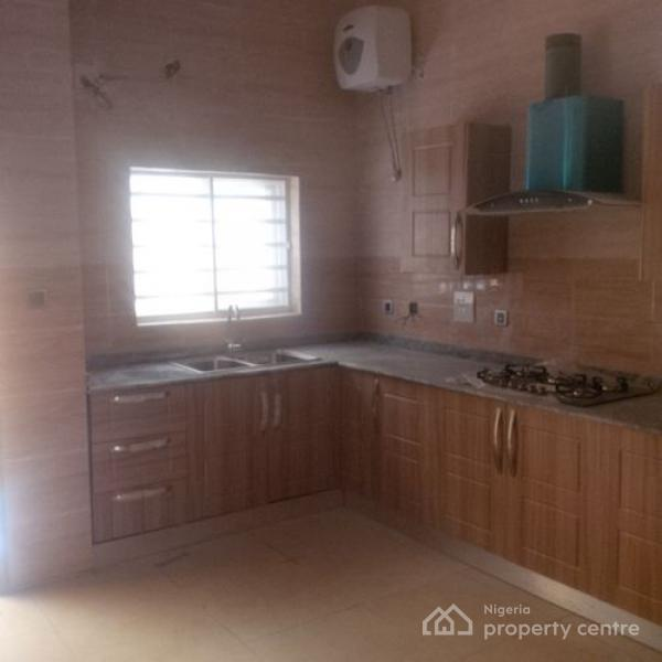 For sale lovely 4 bedroom semi detached duplex with a bq for Kitchen cabinets for sale in lagos
