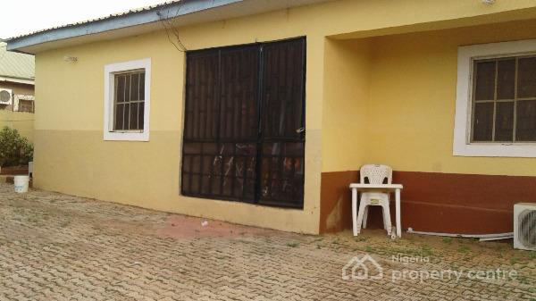 Spacious 3 Bedroom Bungalow Apartment with Gatehouse and Two Rooms Self Contained Attached Bq, Road 14, House 3, Efab Estate, Lokogoma District, Abuja, Detached Bungalow for Sale