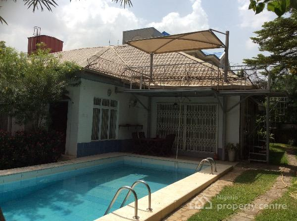 Cute 4 Bedroom Bungalow With Swimming Pool And Bq Off Amino Kano Wuse 2