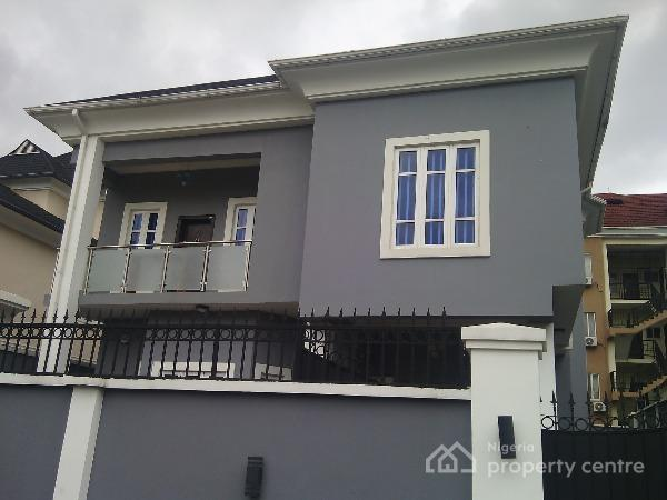 For sale luxury built 5 bedroom detached duplex with for Duplex house plans with swimming pool