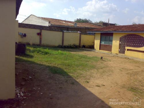 For sale well finished 3 bedroom flat with shops attached for Portable bungalow for sale