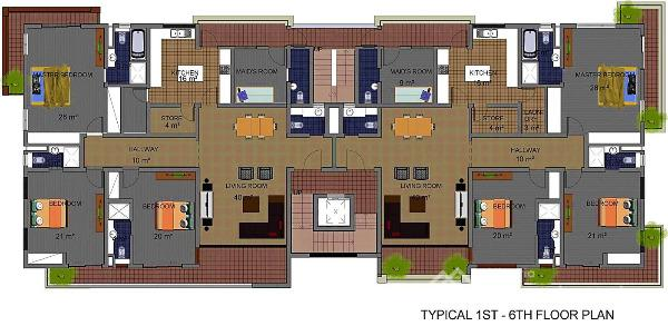 Luxury Apartment Floor Plans 3 Bedroom: For Sale: Secure A Unit With 20m Initial Deposit Spread