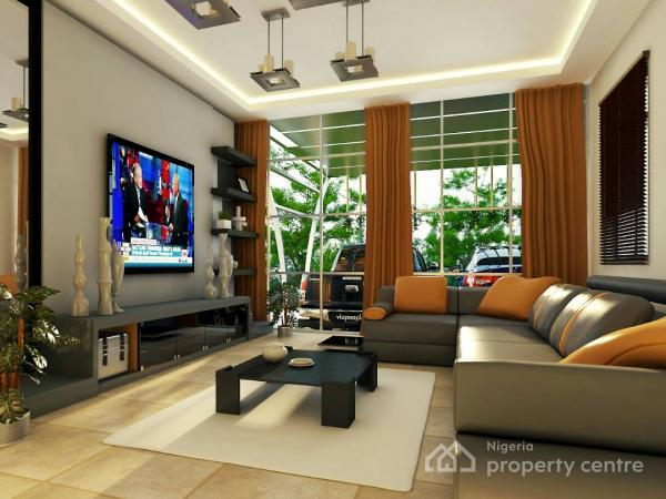 Top-notch Off-plan 4 Bedroom Terrace with 1rm Bq, Top-notch Real Estate Developers (tred) Road, Dakibiyu, Abuja, Terraced Duplex for Sale