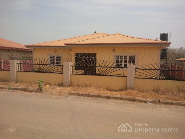 Carcass 3 Bedroom Bungalow, on Estate Road, Lokogoma District, Abuja, Detached Bungalow for Sale