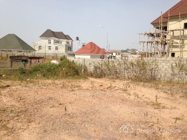 Fenced Plot of Dry Land Measuring 1,700sqm Off Coza Road, Guzape District, Abuja, Off Coza Road, Guzape District, Abuja, Residential Land for Sale