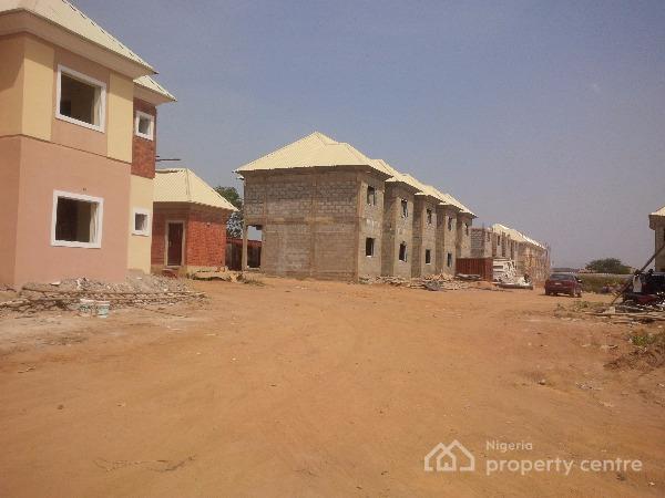 3 Bedroom Detached Duplex + 1rm Bq, Bricks City Spring Road, Kubwa, Abuja, Detached Duplex for Sale