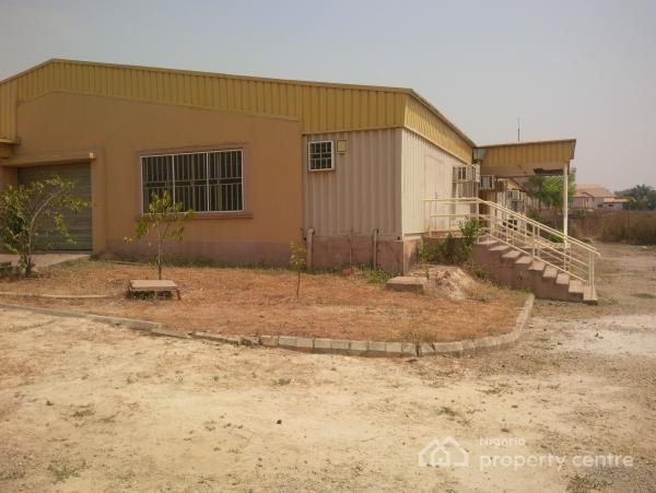 4 Bedroom Terraces + a C Duct/production Factory, Muk-b Estate at Plot 17, Cadastral Zone C02, Karmo, Abuja, Factory for Sale