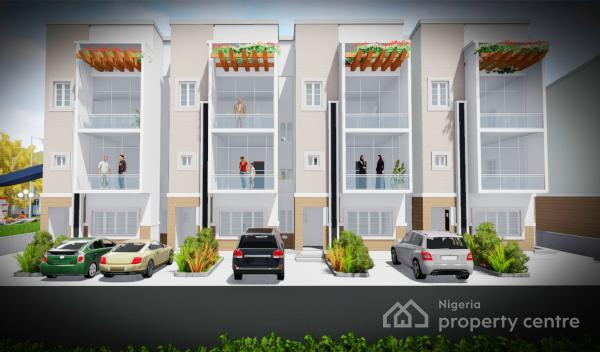 on-going Off-plan 4 Bedroom Terrace with 1 Rm Bq, Jabi Airport Road Before Major Oil Filling Station, Mbora, Abuja, Terraced Duplex for Sale