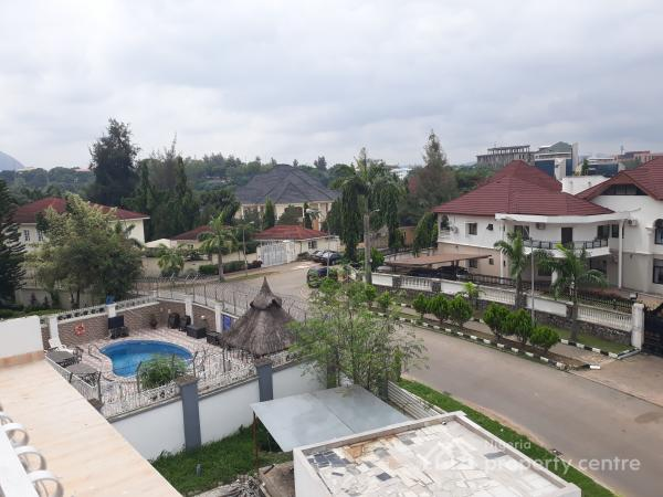 Exotic Finished & Topmost Finished Twin 5bedrooms Duplexes + a Room Maids Quarters Each, Off Alvan Ikoku Way, Maitama District, Abuja, House for Rent