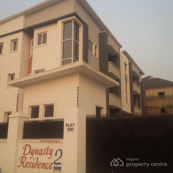 Newly Built & Tastefully Finished 3bedrooms Serviced Apartment, Off Olusegun Obasanjo Way, Wuye, Abuja, Flat for Rent