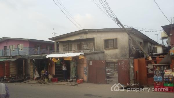 Old Block of 4 Units of 3 Bedroom Flats, Close to Kilo Bus Stop, Masha, Surulere, Lagos, Block of Flats for Sale