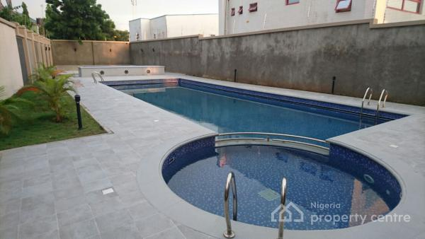 Luxuriously Finished 4 Bedroom Flats with a Room Boys Quarters, Plot 343, River Potoka Close, Off Medeira Street, Maitama District, Abuja, Flat for Rent
