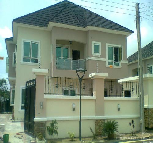 For sale 5 bedroom detacted house bq idado lekki for Types of houses in nigeria