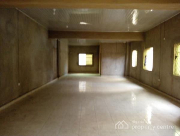 Open Office Space, Totaling About 70/80 Square Meter, Yaba